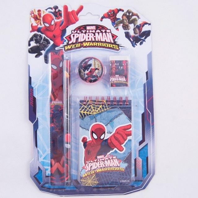Písací set 5ks Spiderman
