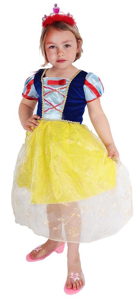 Karnevalový kostým Snehulienka-od 6-8 rokov
