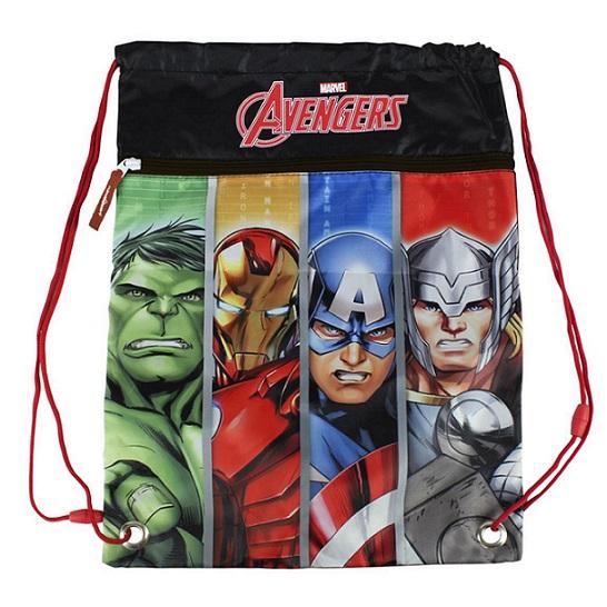 Vrecko na prezúvky, telocvik Avengers