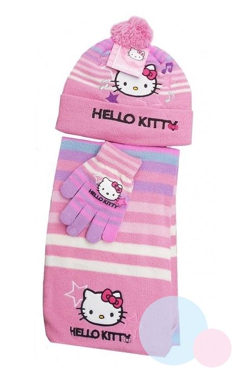 9cce396d8 Súprava šál,rukavice,čiapka Hello Kitty | eshop | Nina-fashion.sk