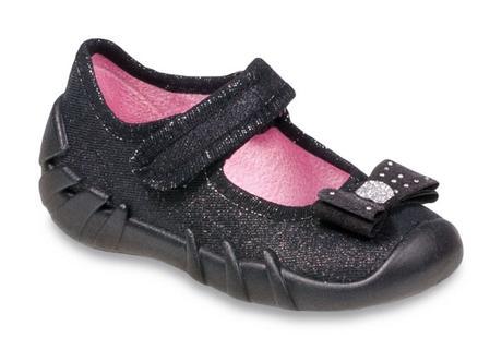 Dievčenské papuče, balerínky BEFADO -  109P146      22