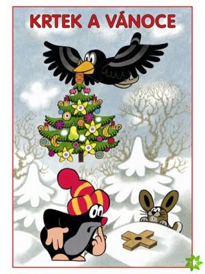 Omaľovánka Krtko a Vianoce A5