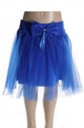 f328646c6061 Tutu sukňa modrá s mašľou pre dievčatá