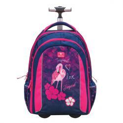 e6186ab5ad Školský batoh na kolieskach BELMIL BEL GIRL