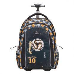 379901a86a Školský batoh na kolieskach BELMIL FOOTBALL