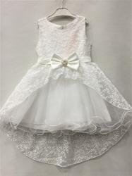 b029686f9a8f Dievčenské spoločenské šaty biele
