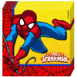 Party servítky Spiderman 33x33cm -20ks