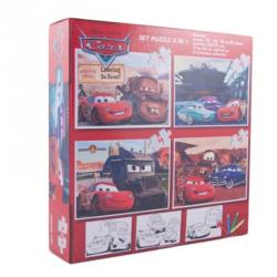 Puzzle Cars 4v1