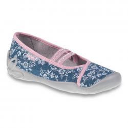 e431b3bade50 Dievčenské papuče BEFADO - 116Y232