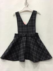 2b8e4203efe3 Dievčenské šaty na traky kárované