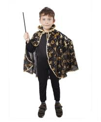 4b5cbc6e7461 Plášť čarodejnícky čierny 3-10 rokov