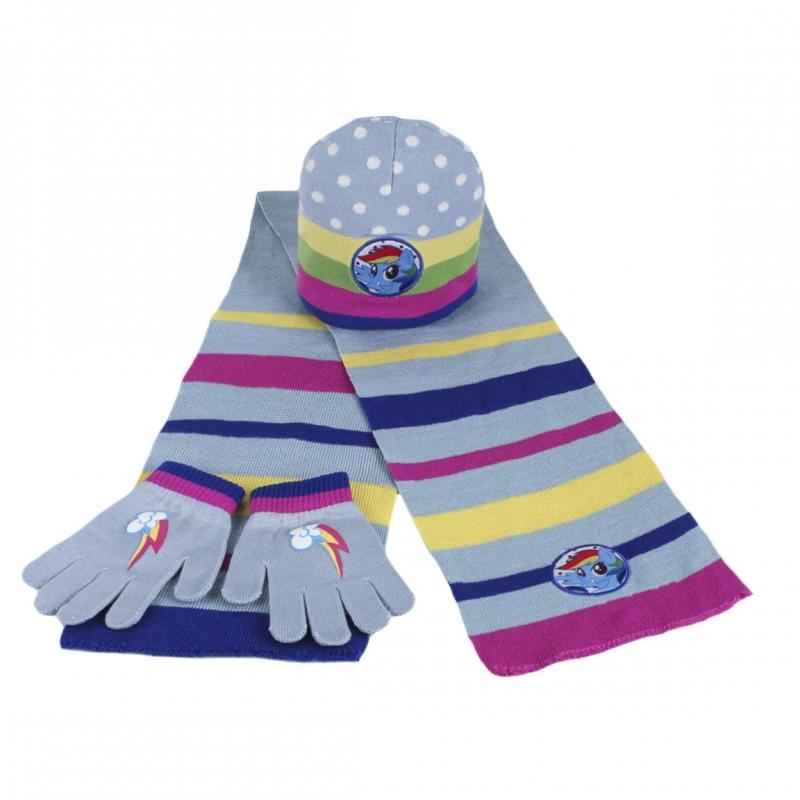 64cc2ff51 Súprava My little Pony, šál,čiapka,rukavice | eshop | Nina-fashion.sk