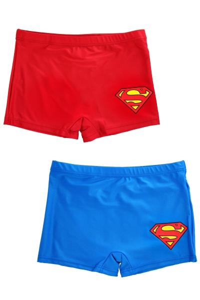Plavky Superman modré a červené modré;116