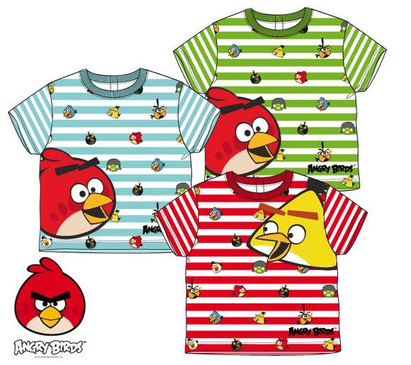 Tričko Angry Birds baby zelená 12  mesiacov