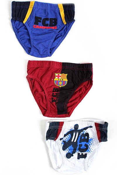 Slipy FC Barcelona 3ks 4/5 rokov
