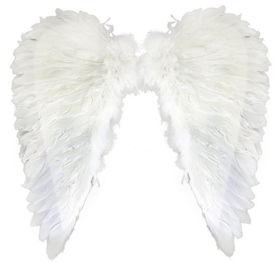Anjelské krídla z peria
