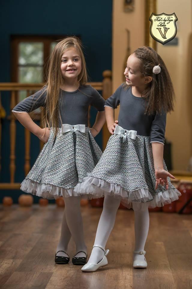 6c18062da304 Dievčenské šaty s volánikmi