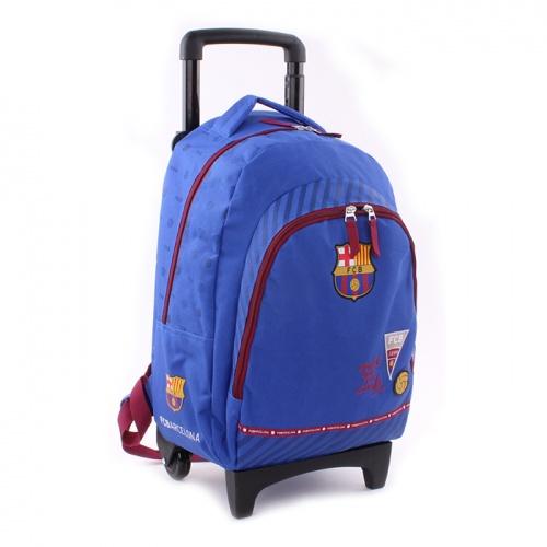 Cestovný kufor FC Barcelona na kolieskach veľký