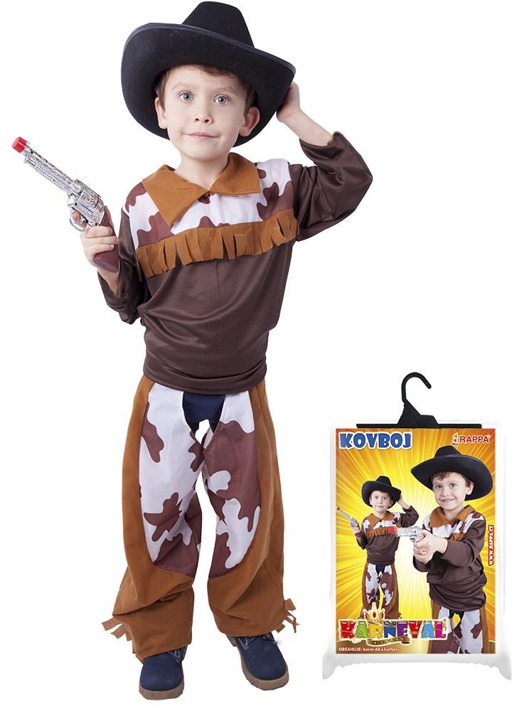 Karnevalový kostým kovboj, 6-8r.