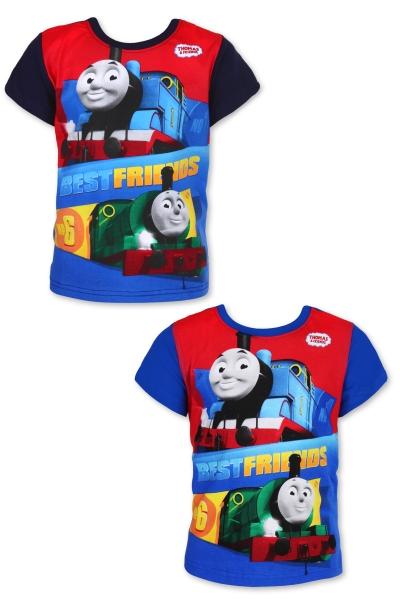 Tričko Vláčik Tomáš modré a tmavomodré 92, modré