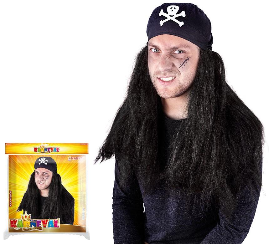 Parochňa pirátska so šatkou pre dospelých