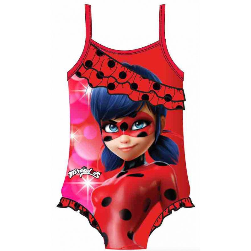 Plavky celé Miraculous - Ladybug 104