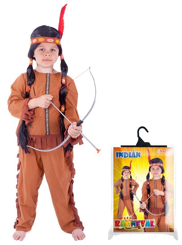 Karnevalový kostým Indián 6-8 rokov