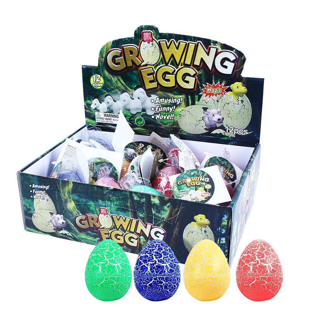 Dino maxi rastúci vo vajci