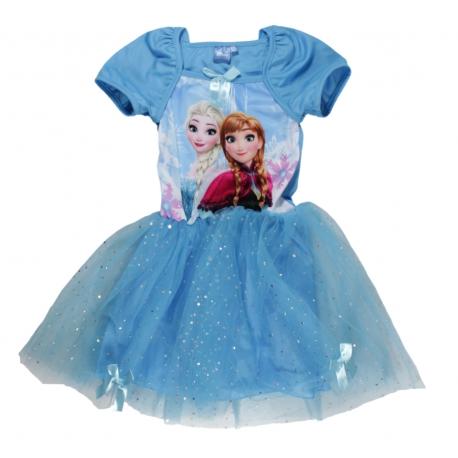 d67dc9f13 Dievčenské šaty Frozen fialové a modré | eshop | Nina-fashion.sk