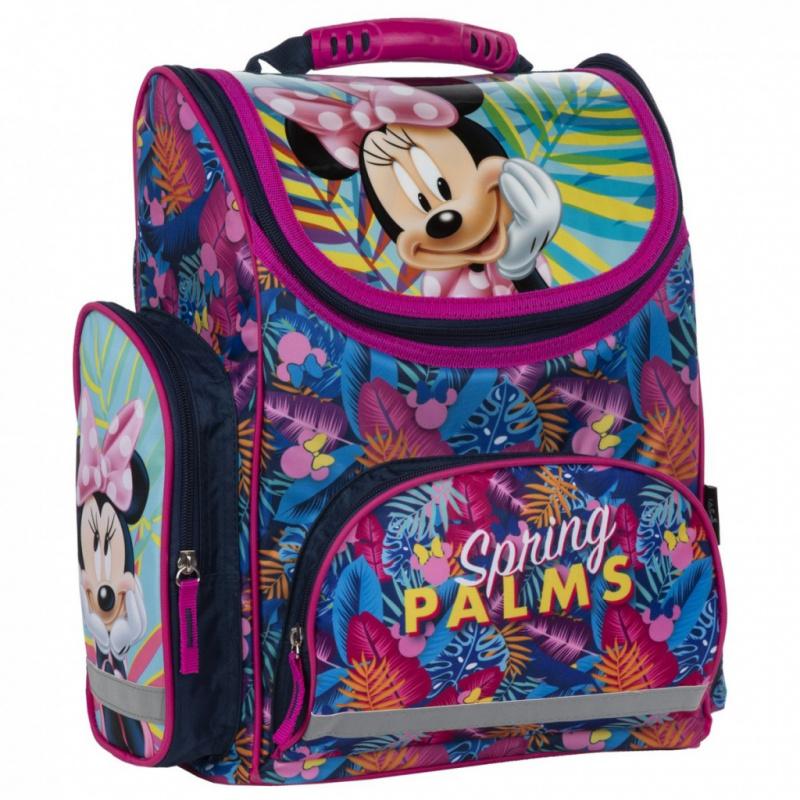 DERFORM Školská taška Minnie ružová Spring Palms STK 372487