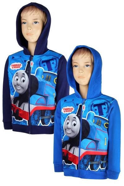 Mikina na zips Vláčik Tomáš 98 modrá