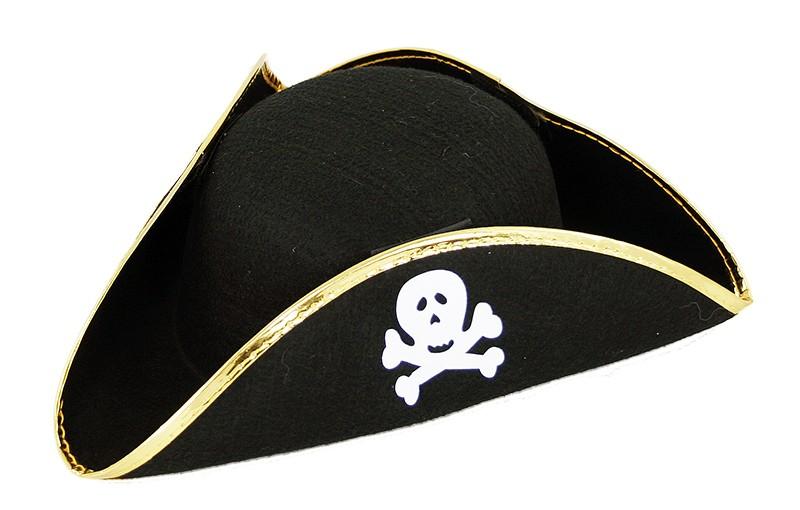 Klobúk pirátsky s lebkou, detský