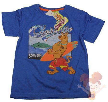 Tričko Scooby Doo modré,biele,zelené modré;98