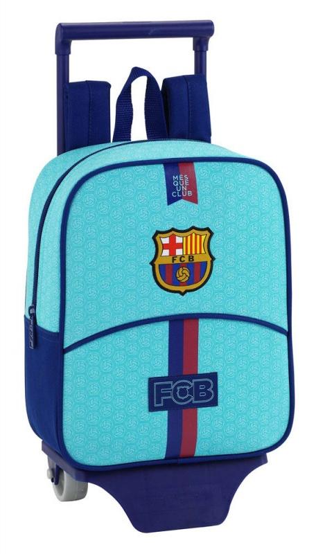 Cestovný kufor FC Barcelona na kolieskach malý