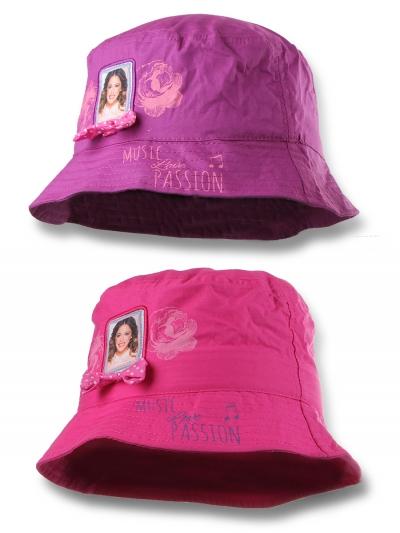 Klobúk Violetta fialový a ružový  fialový;54