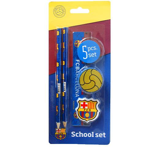 Písací set FC Barcelona-5ks, A74