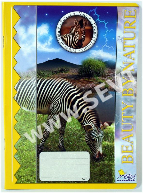Zošit 523- A5 Zebra