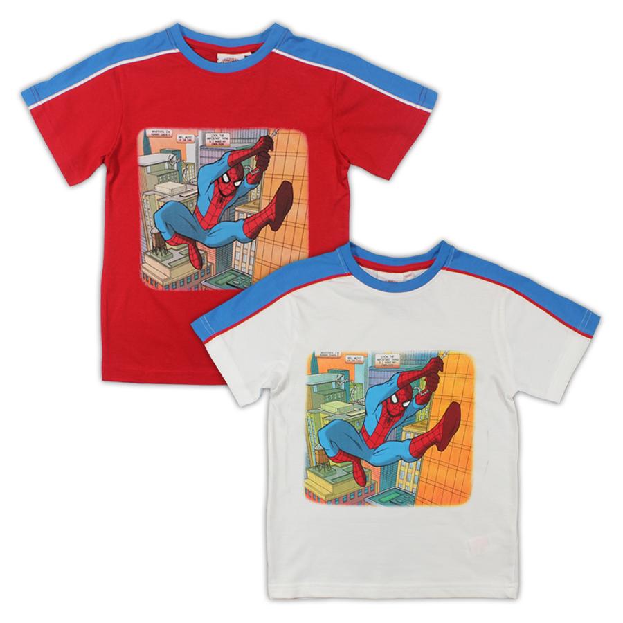 Tričko Spiderman 92/98 červené