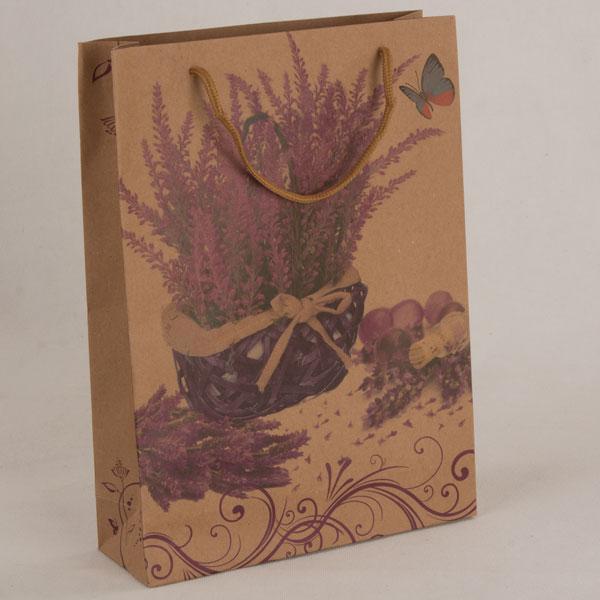 Papierová taška levanduľa 88cm